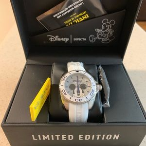 NWT  Limited Edition Mickey Mouse Invicta watch.